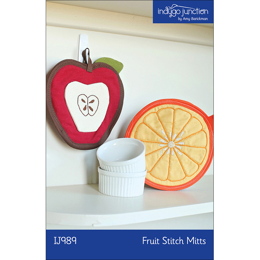 Fruit Stitch Mitts Pattern by Amy Barickman