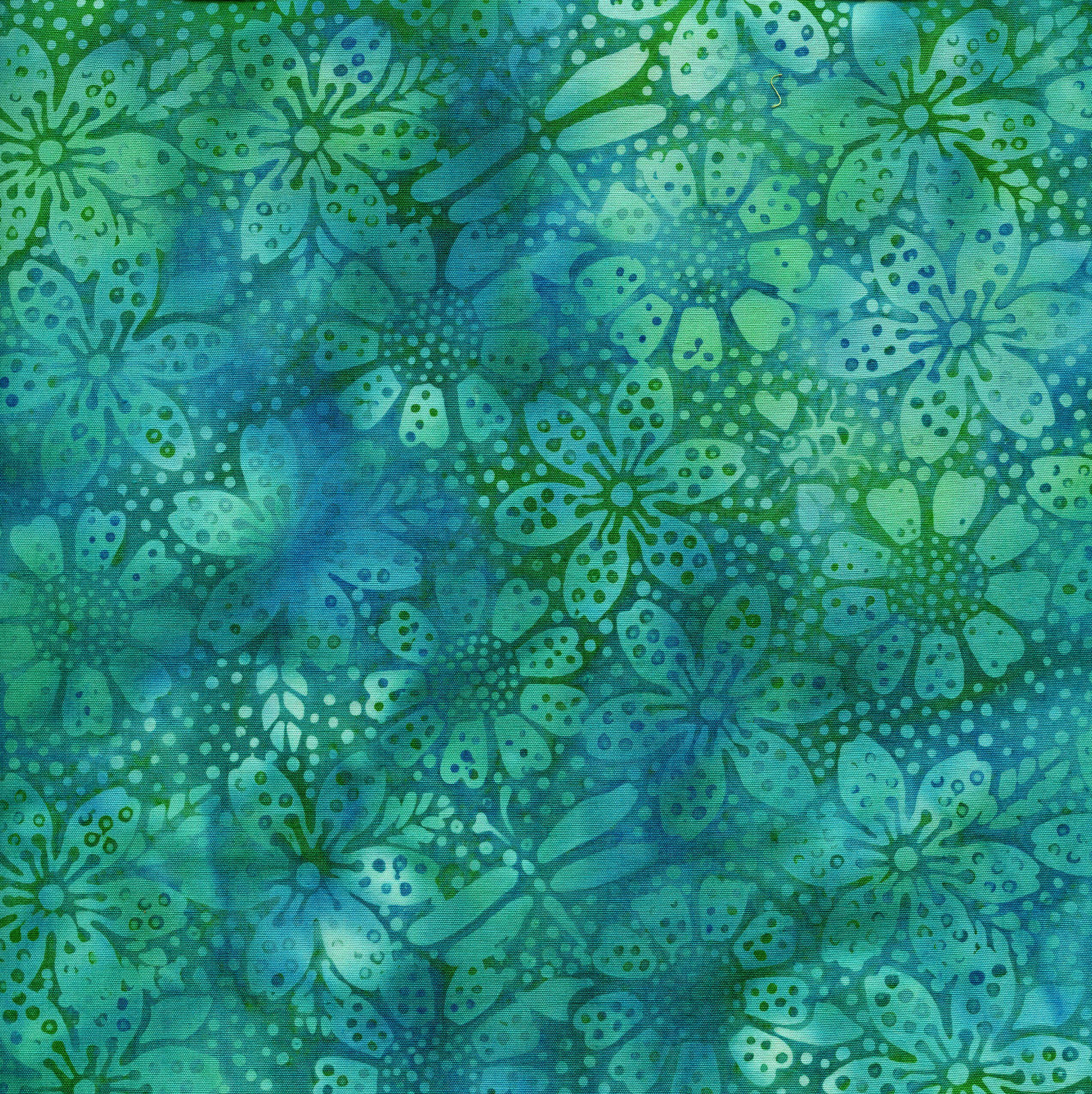 111812610 / Dot Floral -Bermuda