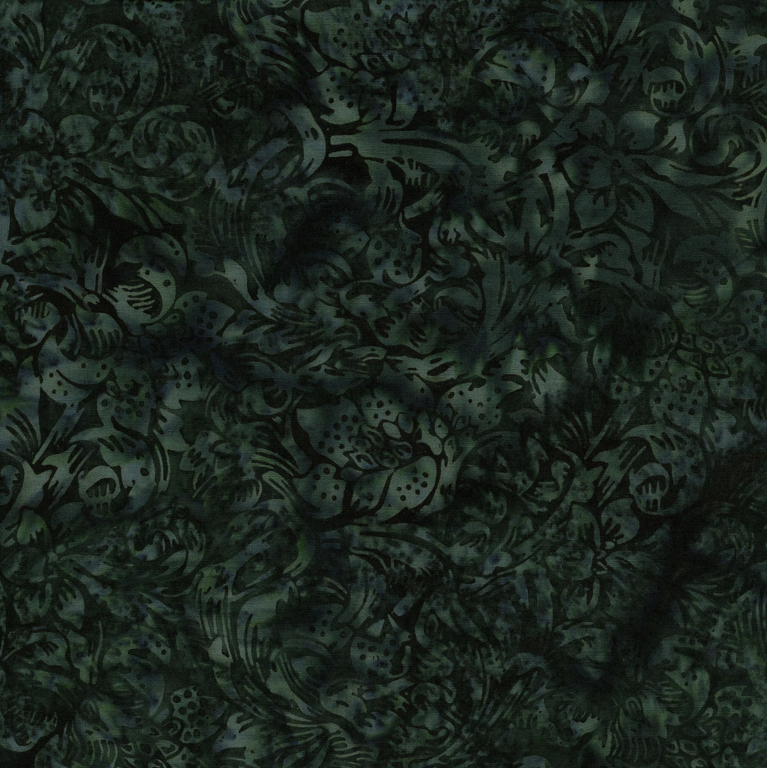 ISLAND BATIK 111822686 / LG Floral Vine -Forest