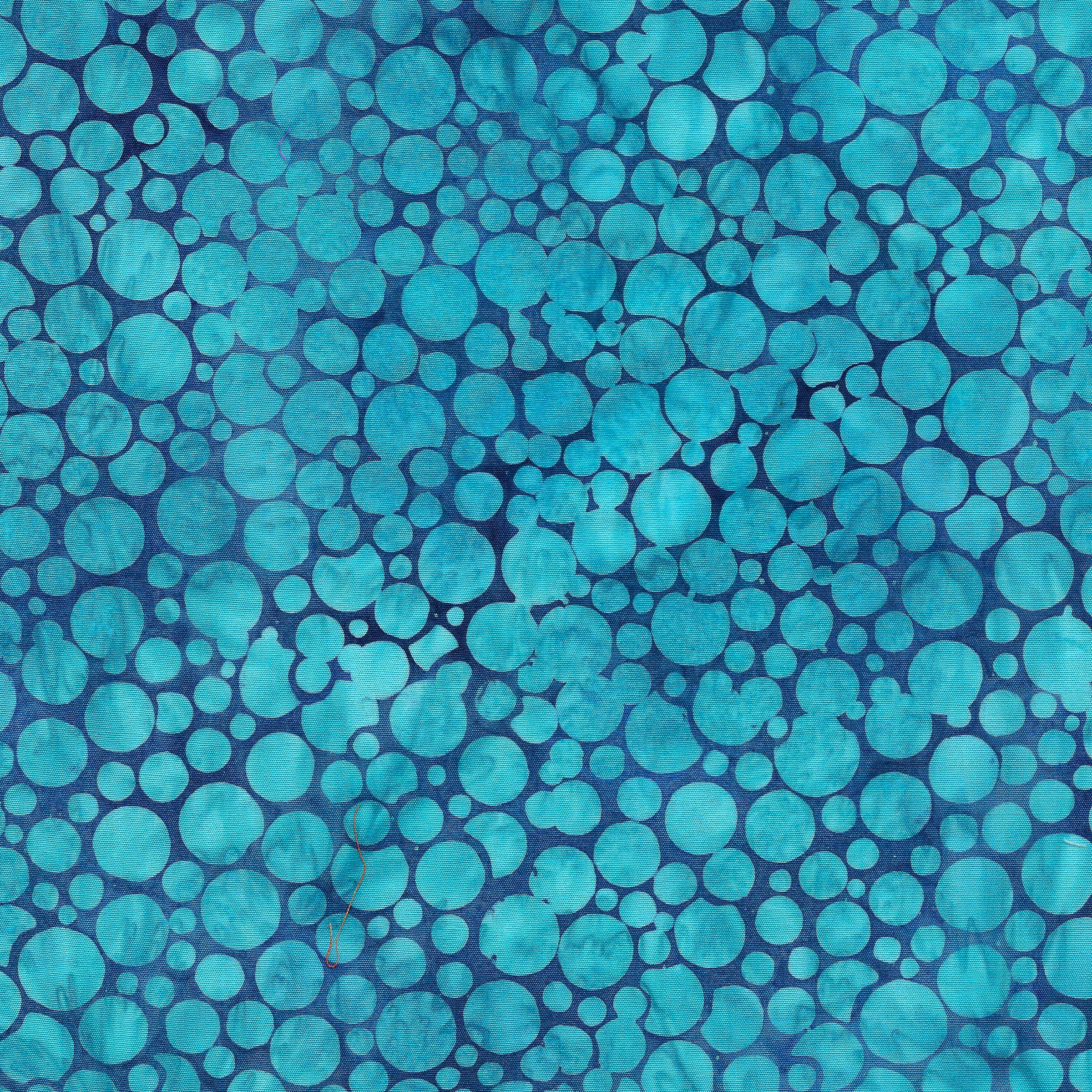 IB- Mini Bubbles Medium Pool Blue Batik