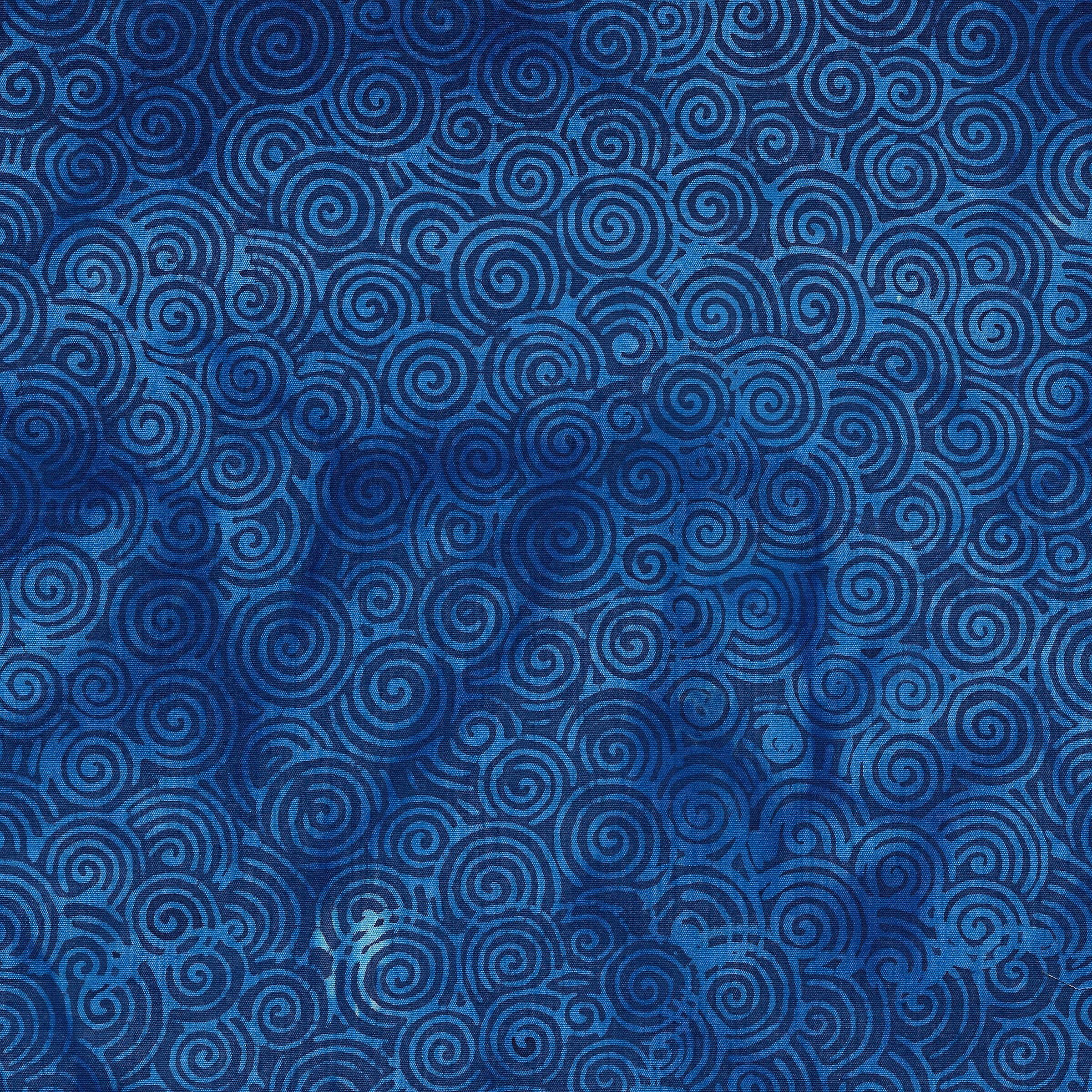 111908532 Swirls Royal Blue Sea