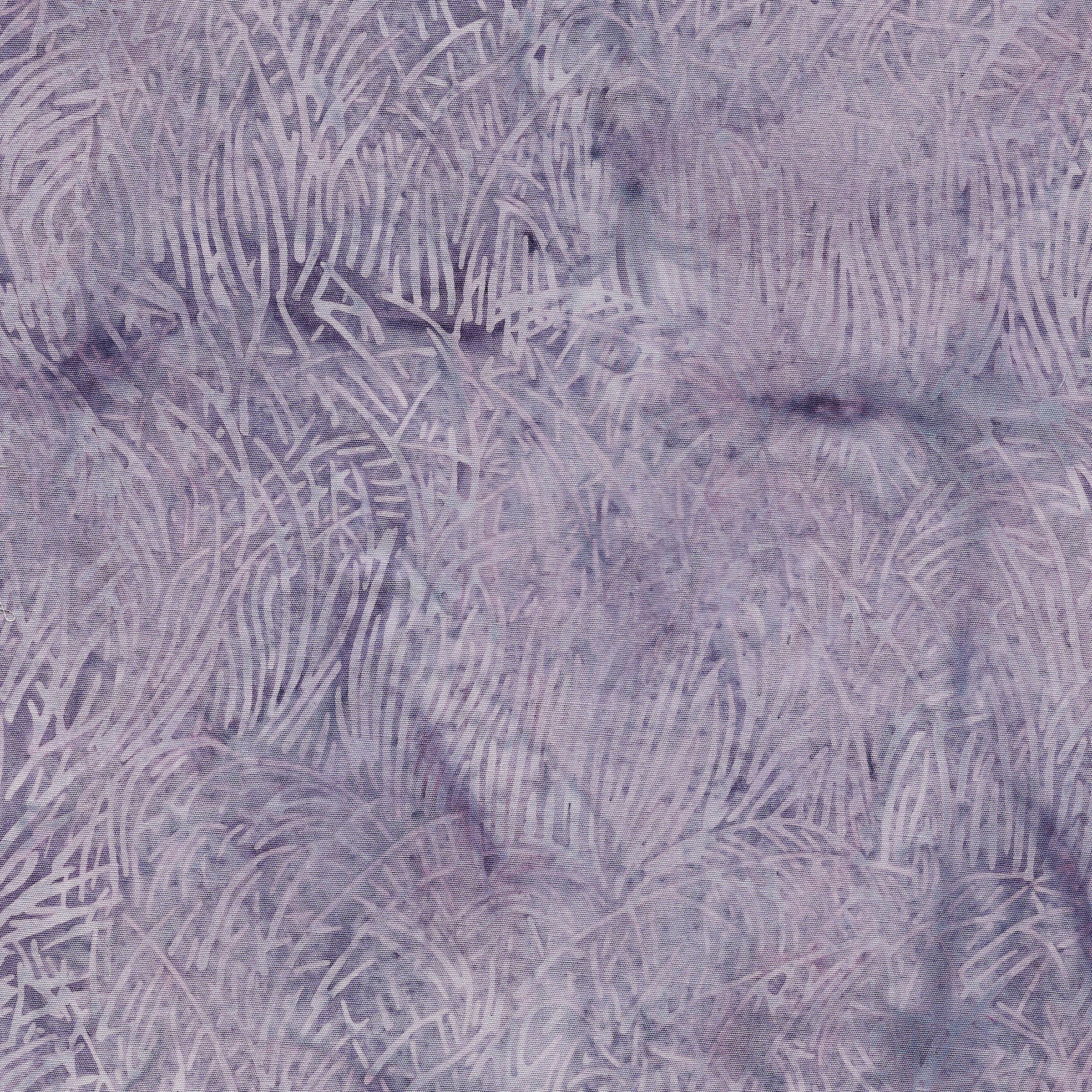 Grass-Lavender Batik