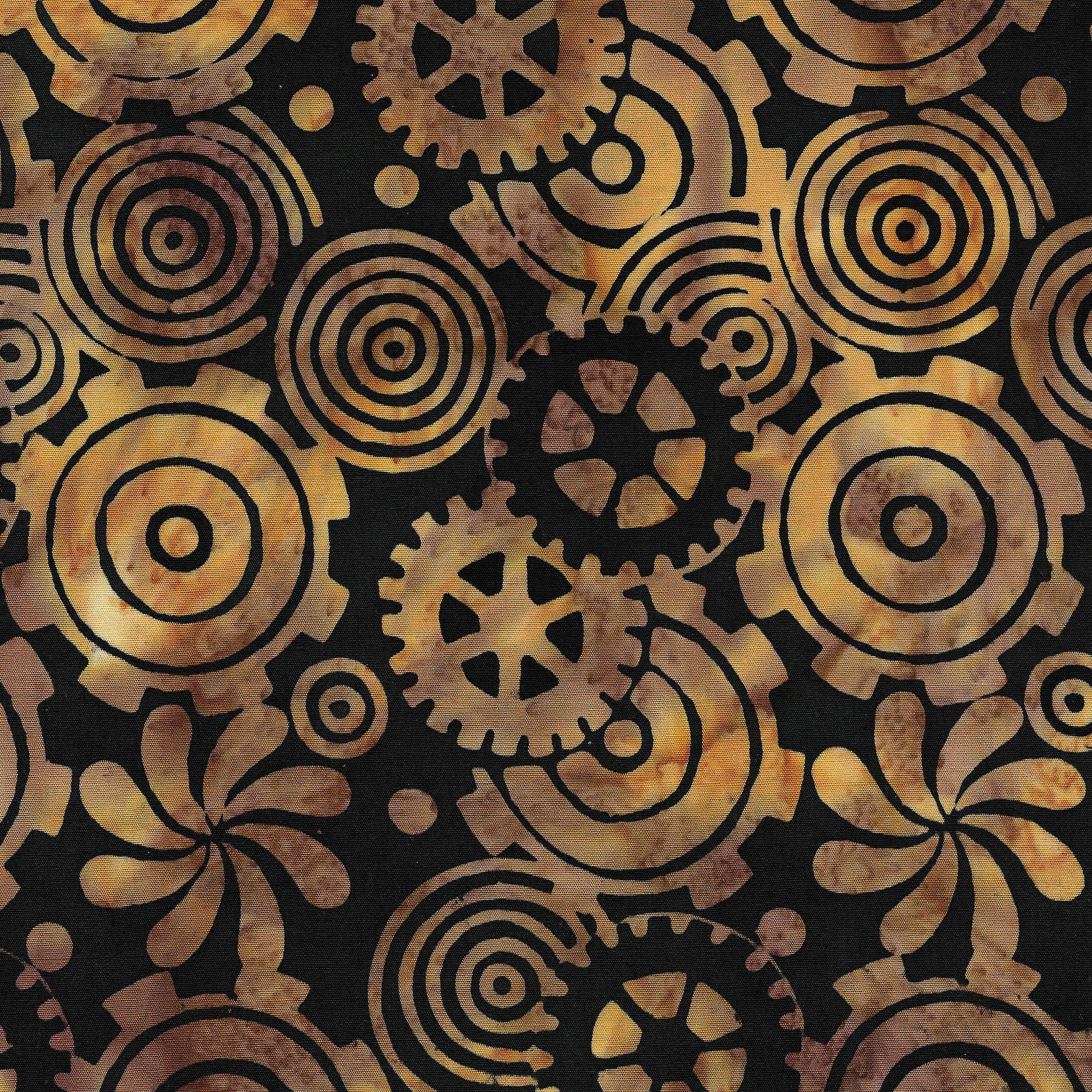 Island Batik 111915048 Gears-Blonde Ale