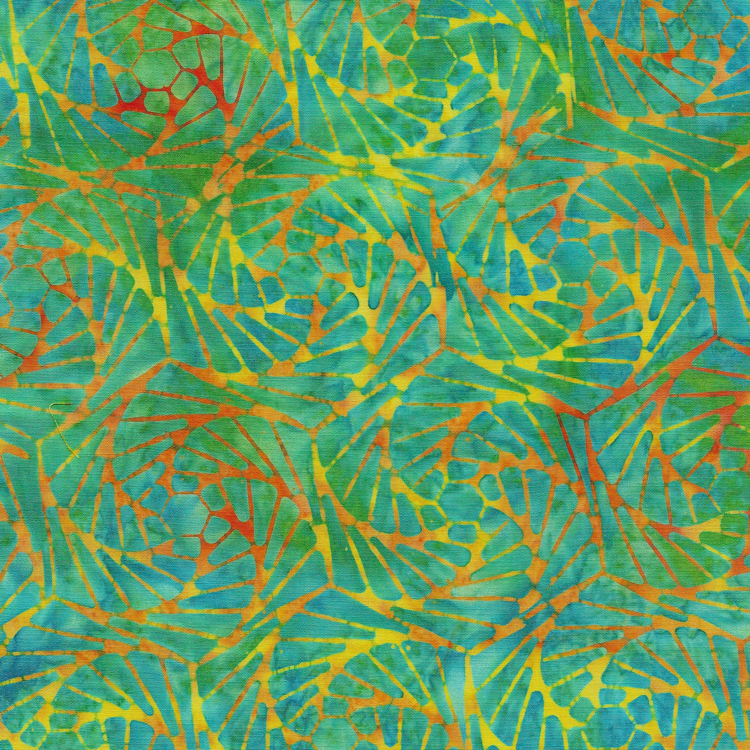 Island Batik - 111917865 / Fan-Mardigras