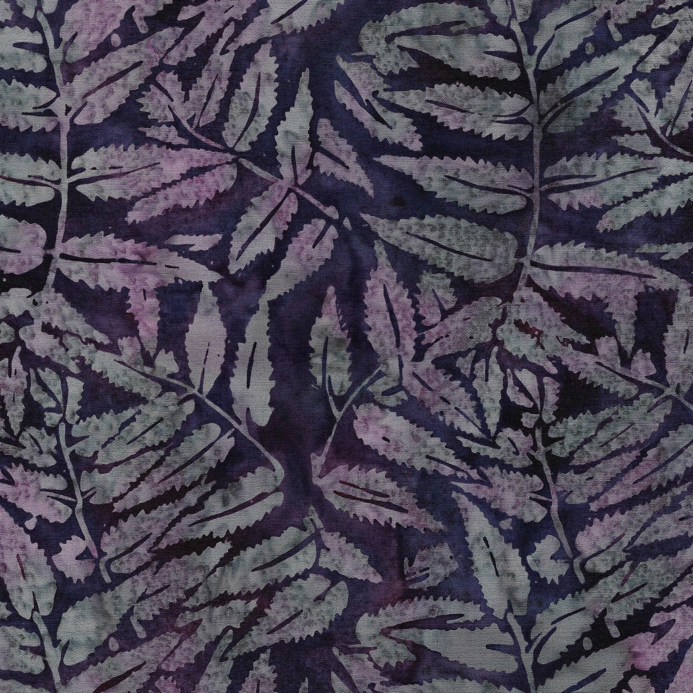 111930495 / Fern Leaves -Eggplant