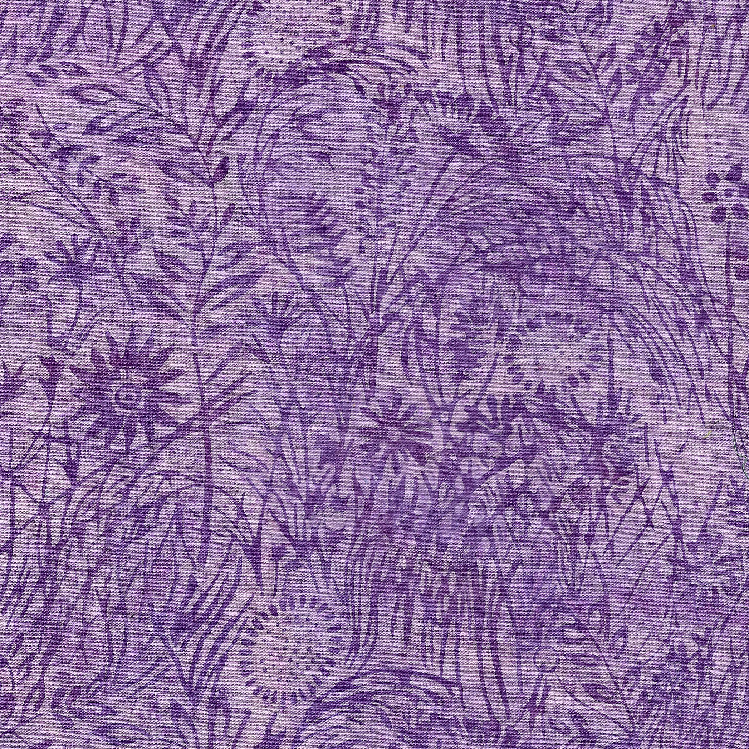 IB- Wildflower-Lavender Batik
