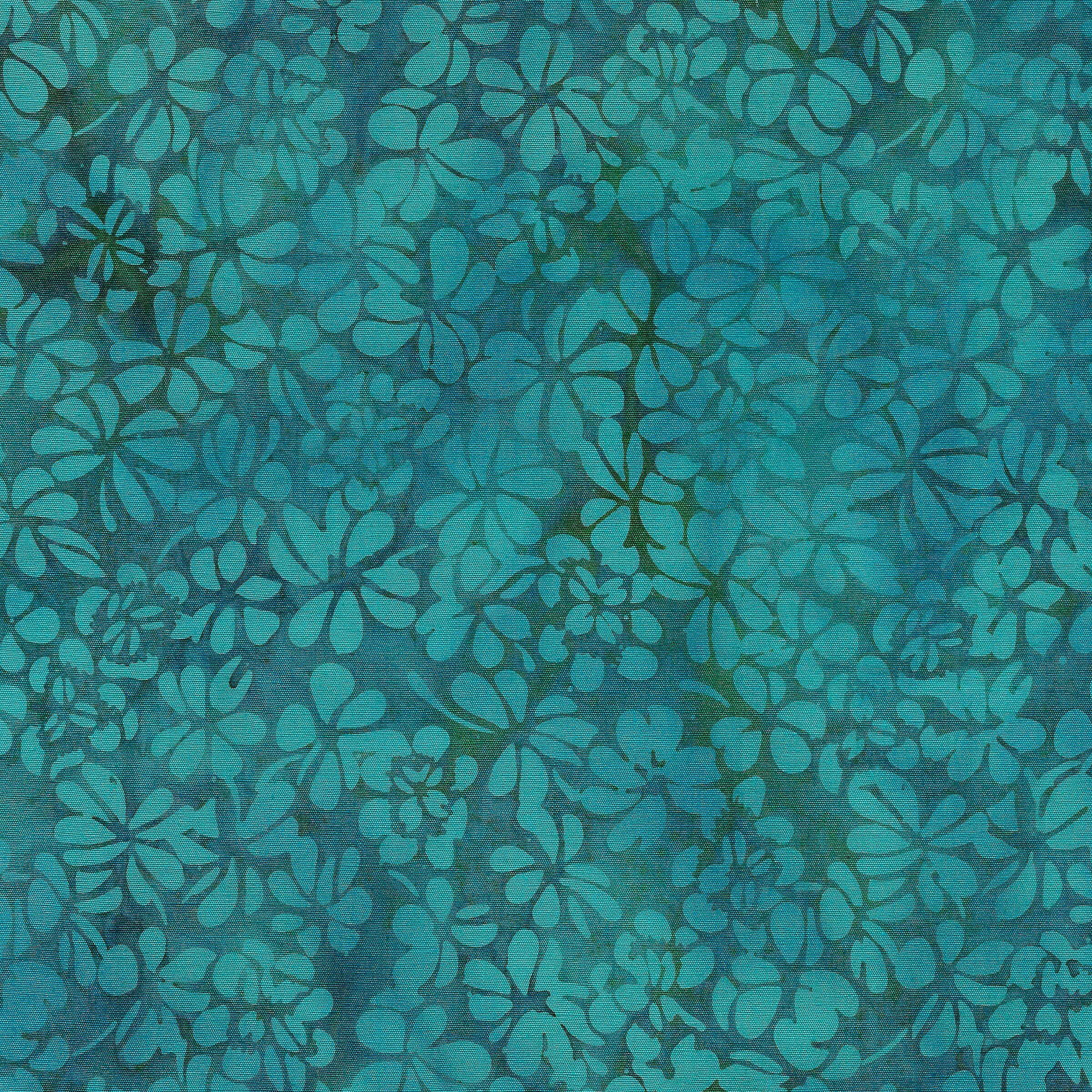 Petal Pushers - Clover, Bermuda 111932610 - by Kathy Engle for Island Batik
