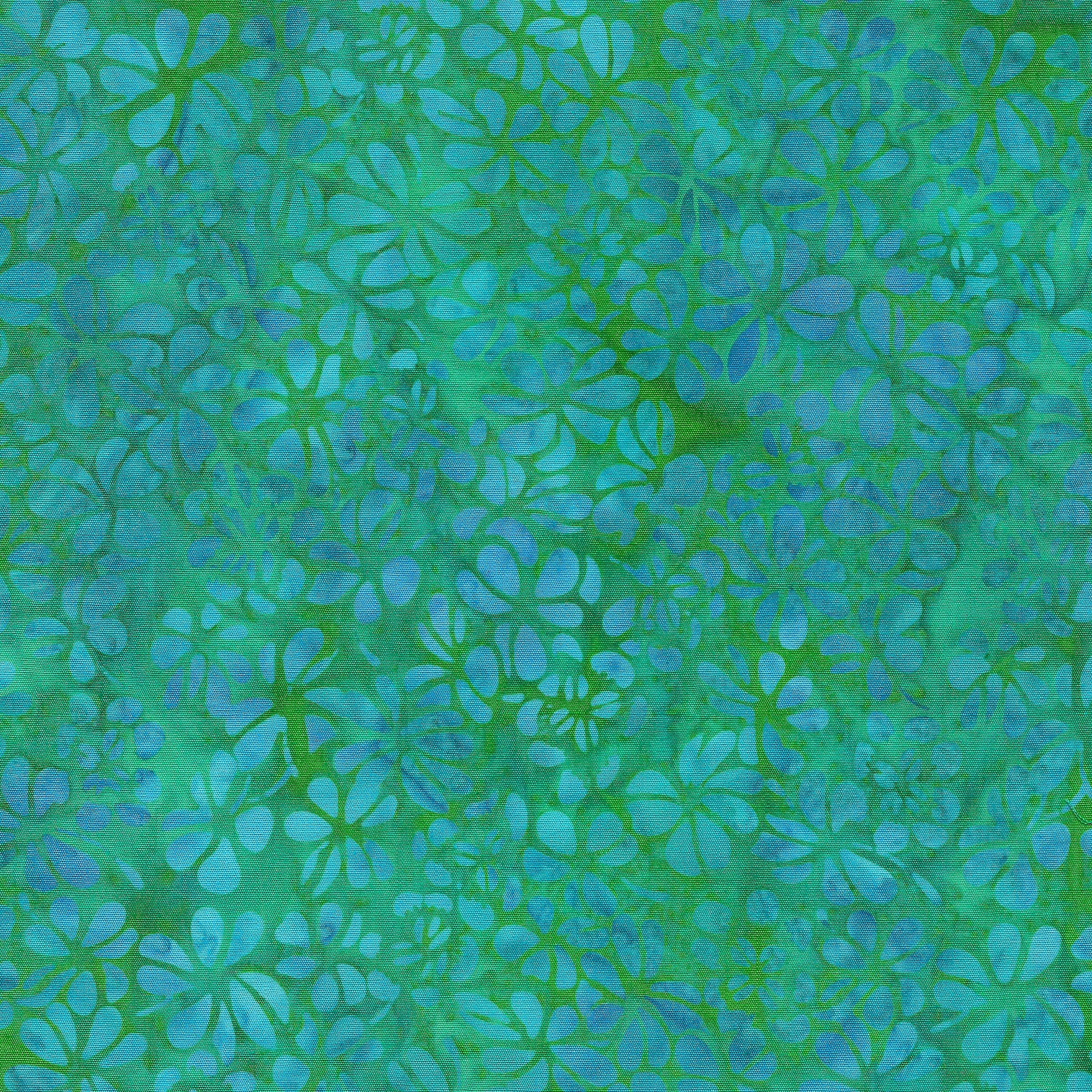 Island Batik Cool Waters - Clover