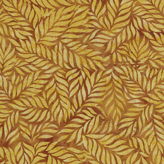IB- Coco Cabana Fern-Gold Batik