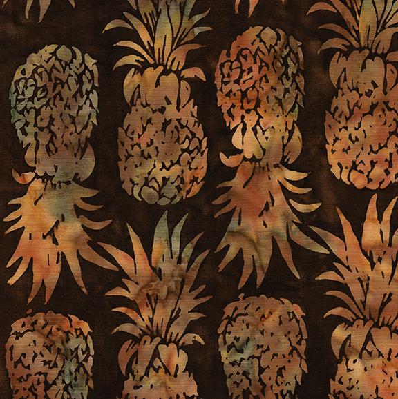 Island Batiks Pineapple-Walnut