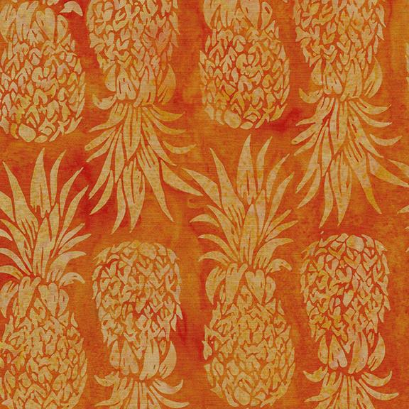 112007215 / Pineapple-Candy Corn Batik
