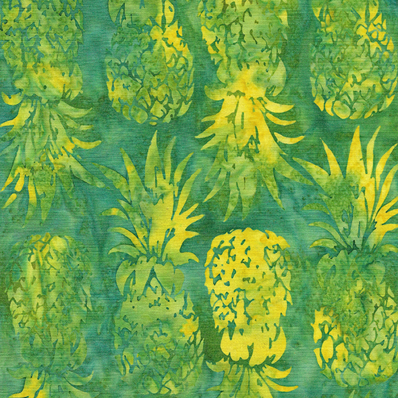 Batik Pineapple-Lemon Lime