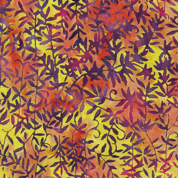 IB- Tiki Punch Vine-Sunset Batik