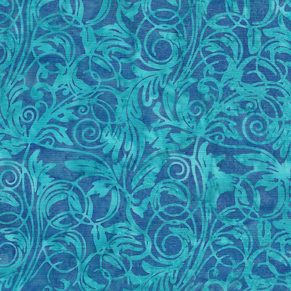 Batik Leaf Tendrils-Pool