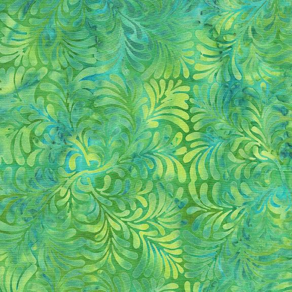 112024603 / 4 Squared Leaves-Parakeet