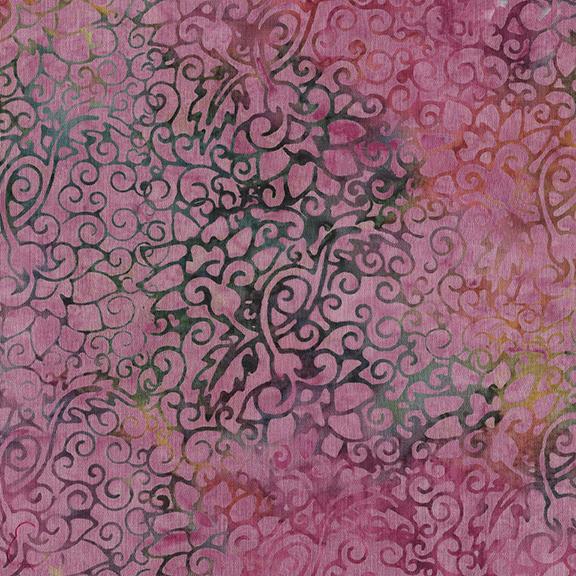 112025416 Swirl Outline Floral-Mauve