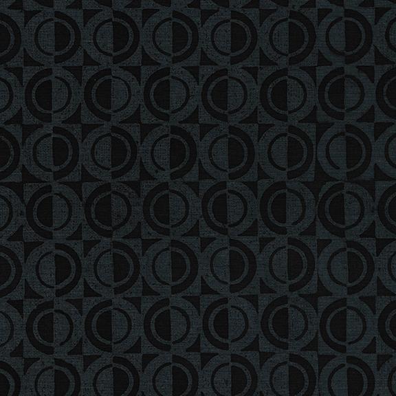 Half Circle/Charcoal: Gatsby (Kathy Engle)