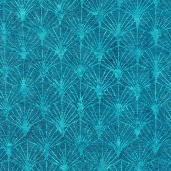 ISLAND BATIK 112036520 / Gatsby Fans-French Blue