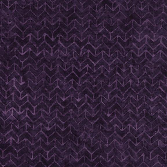 Chevron -Blackberry Island Batik