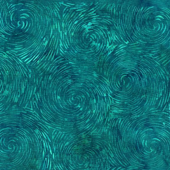 Floralicious Swirl Sun Turquoise