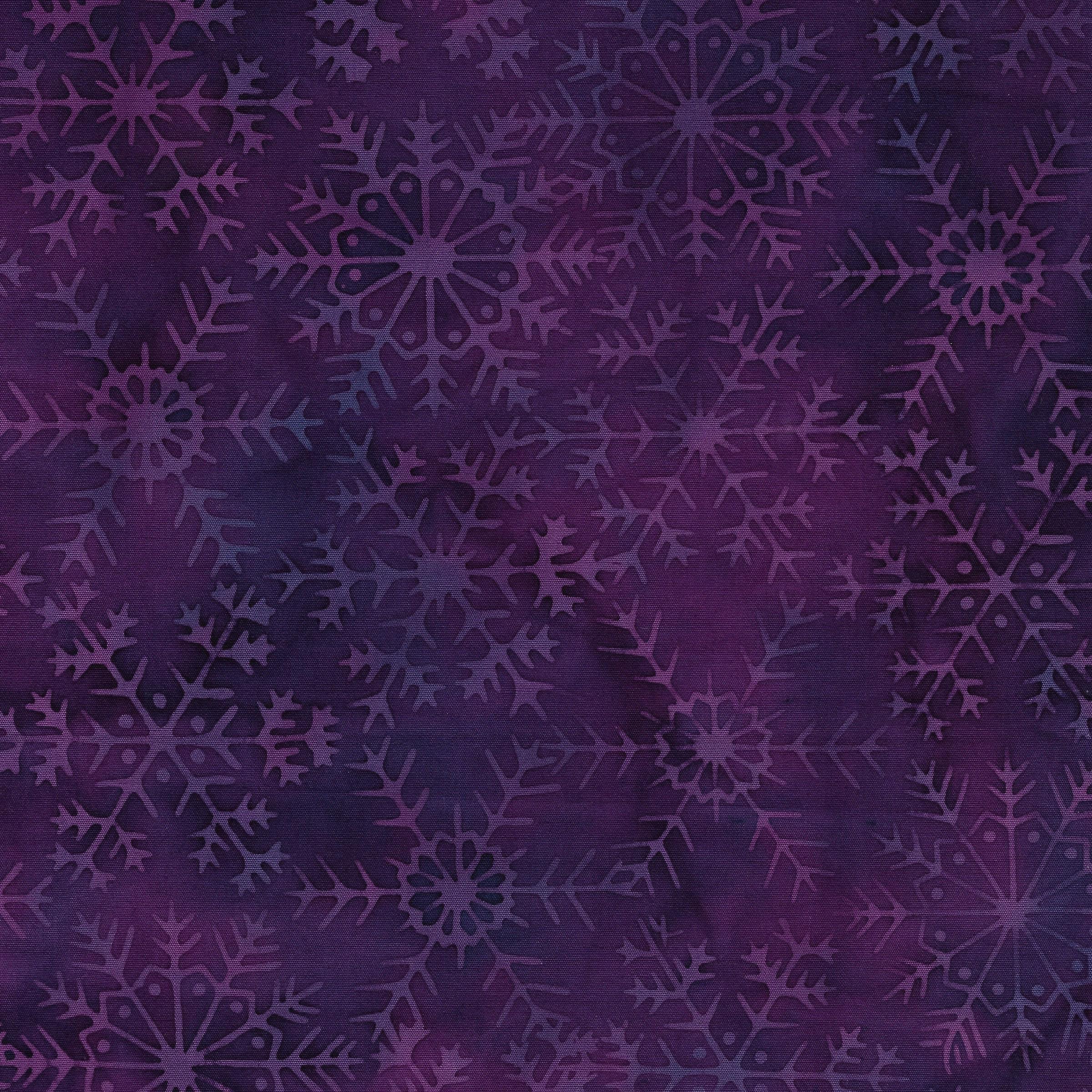 Lg Snowflake -Iris 121803455