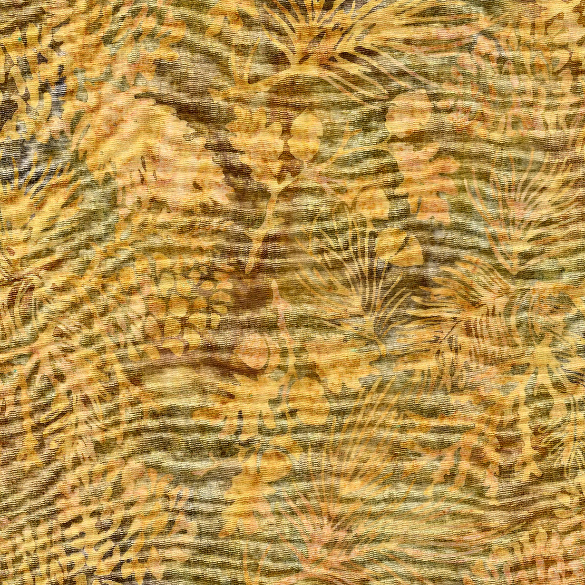 Pine Leaf -Lt Smore Batik