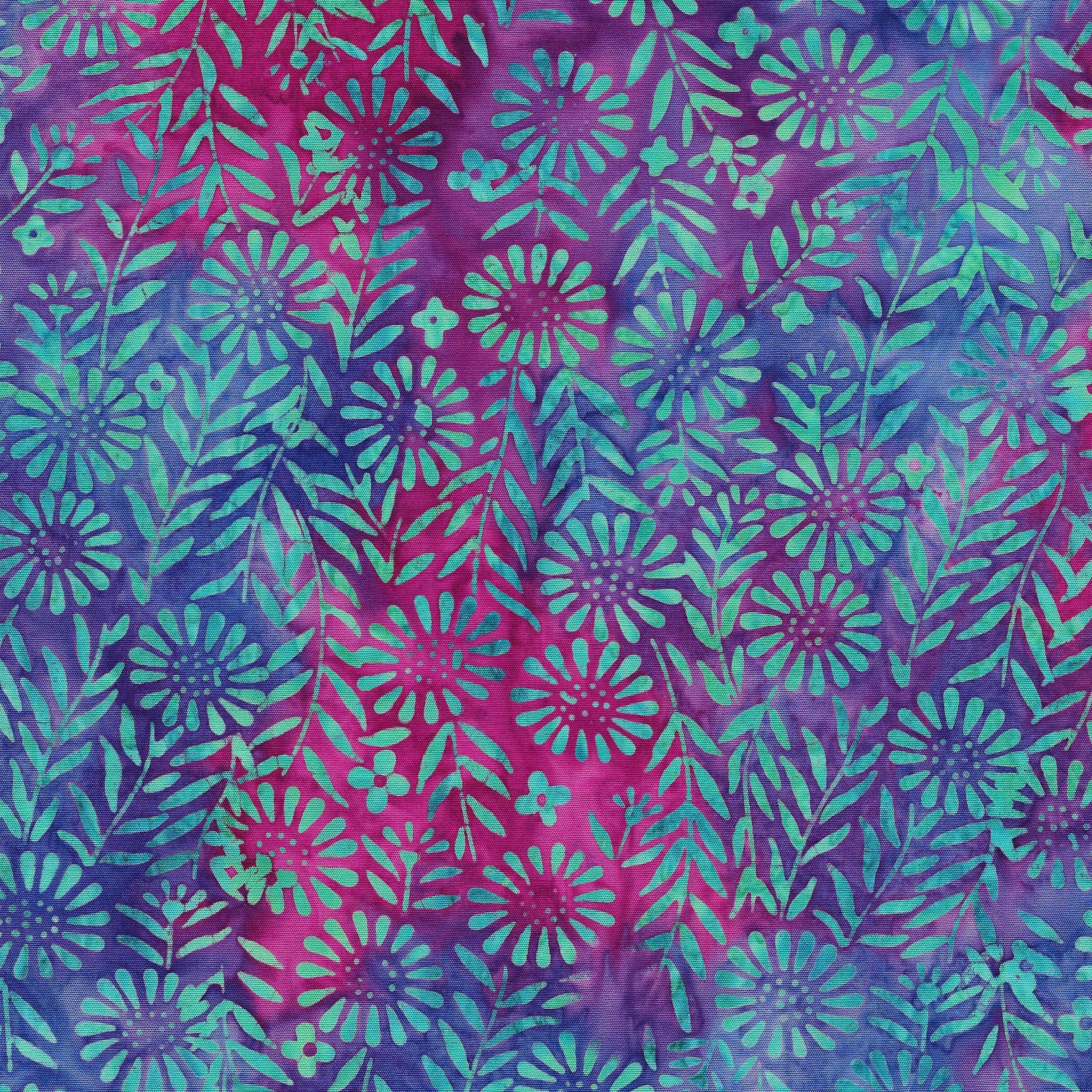 Flower Field -Aqua