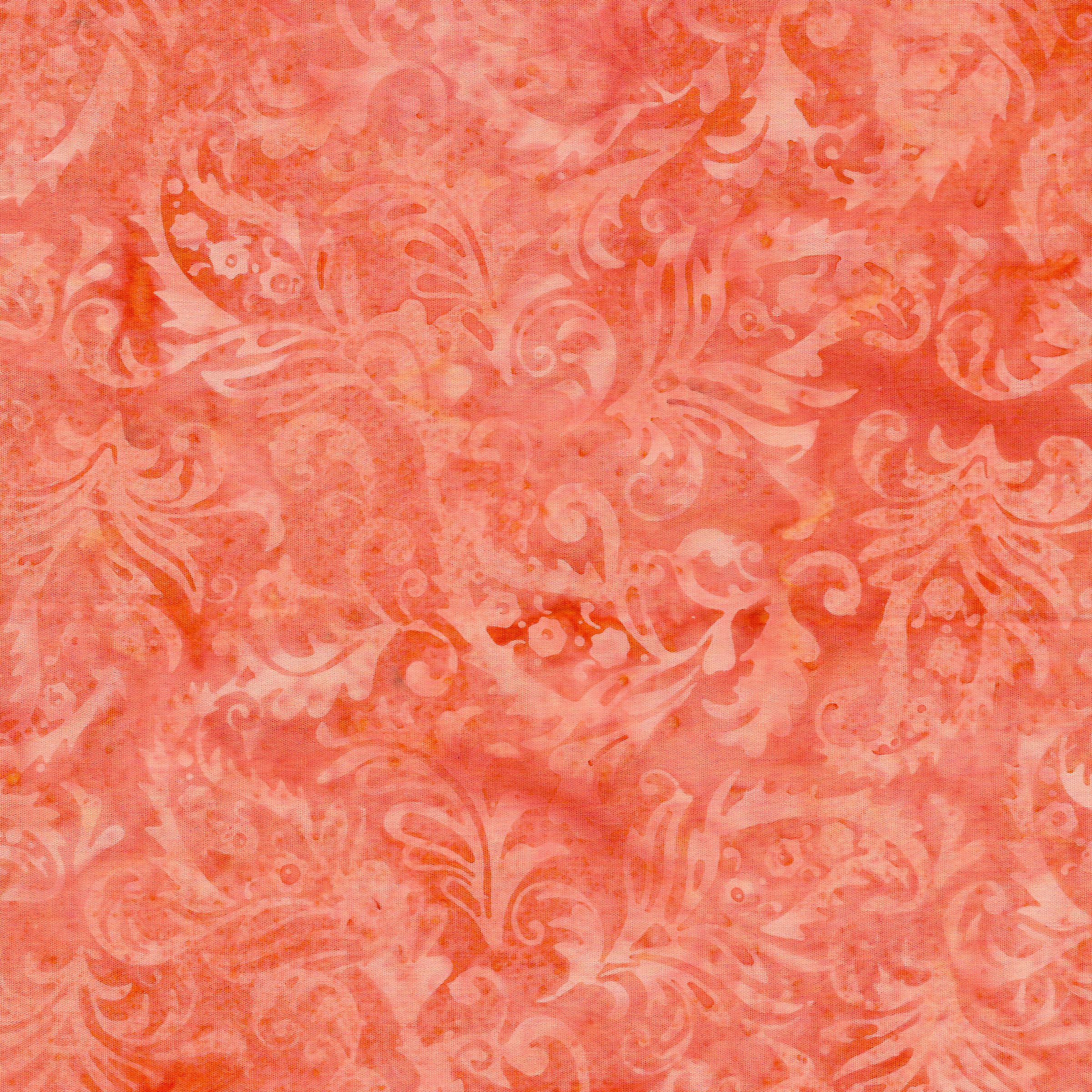 Paisley Floral-Apricot