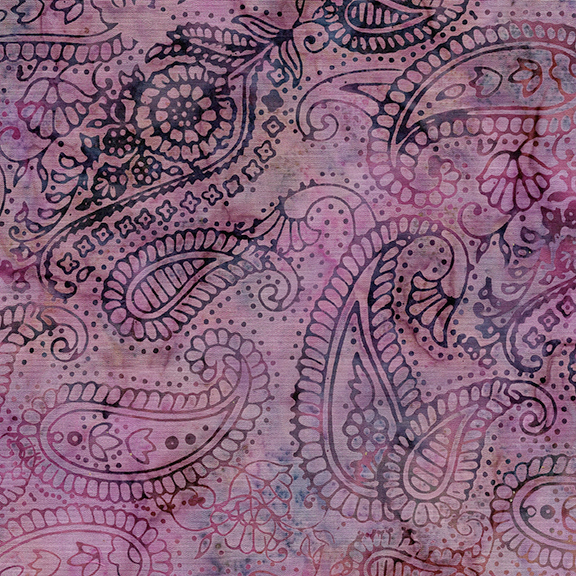 121819415 Paisley Outlining Dusty Rose