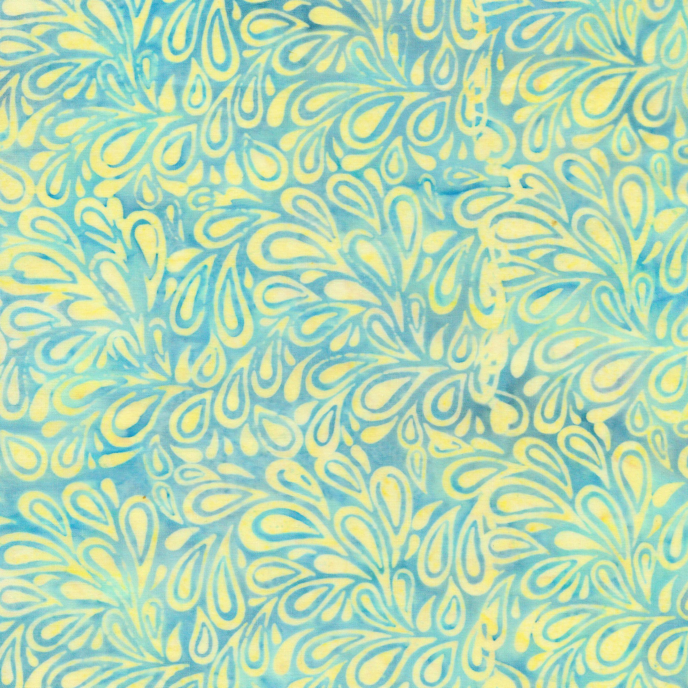 121820110 / Paisley Drops -Buttercup