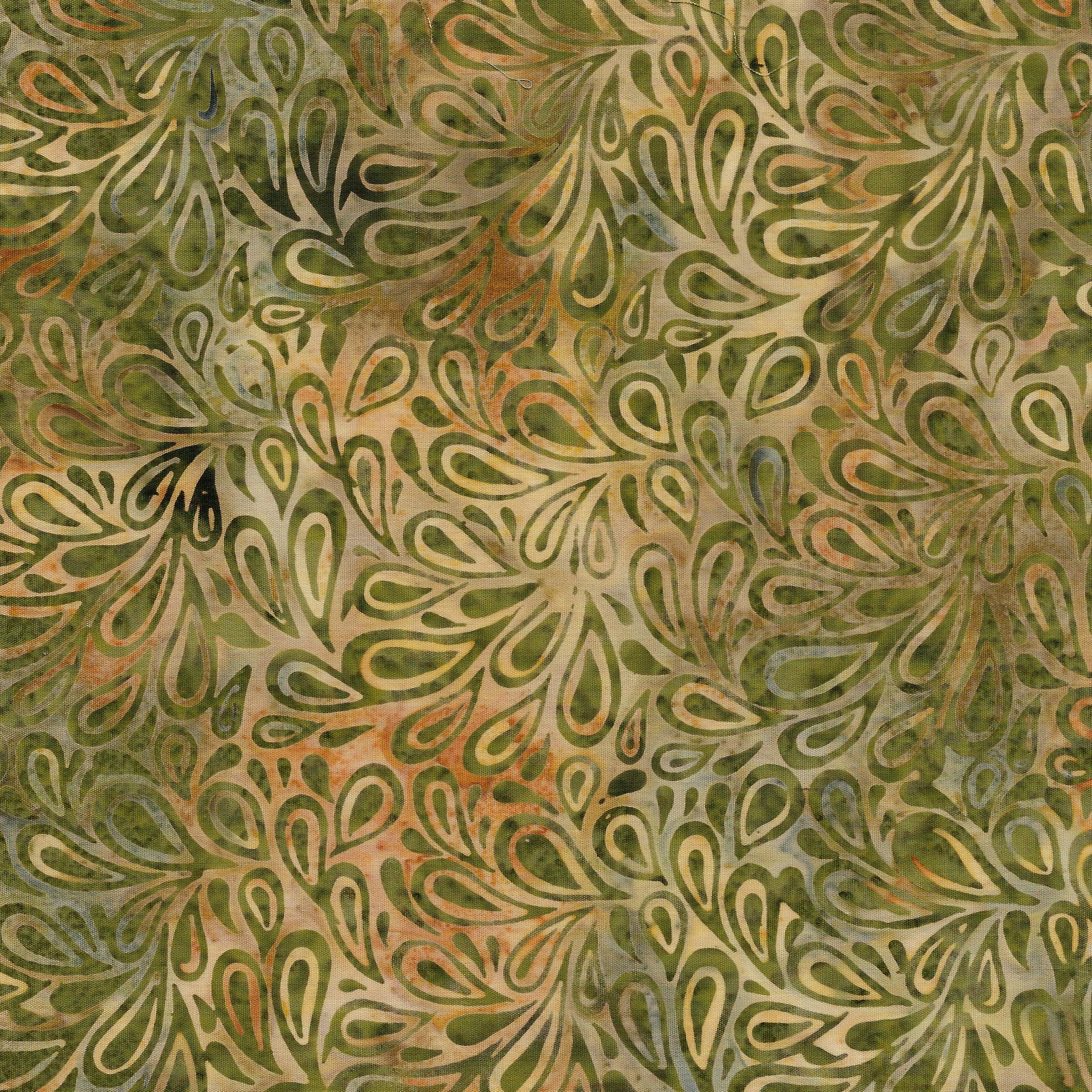 IB- Batik Paisley Drops Desert