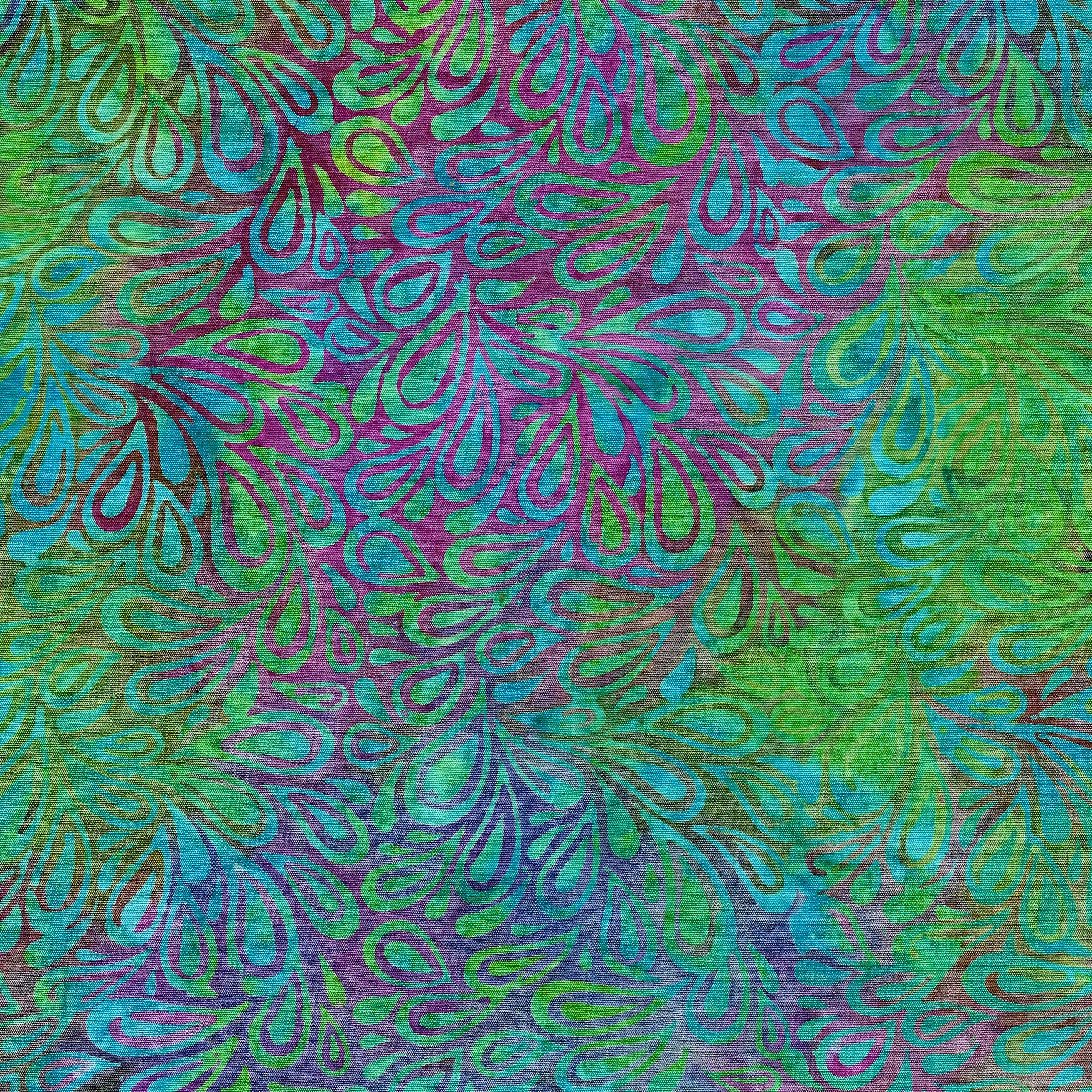 121820883 / Paisley Drop -Mardigras