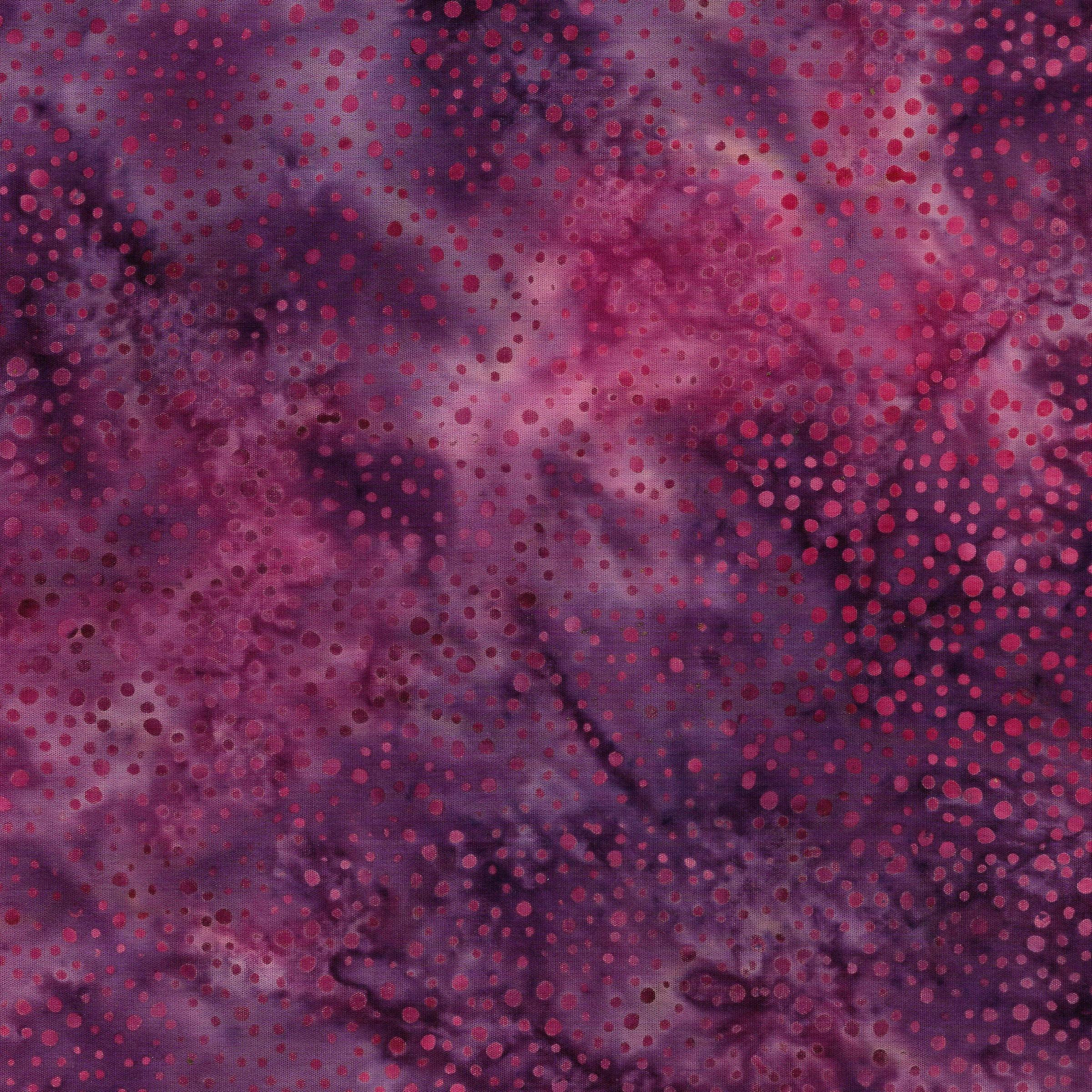 121822455 F181 Choir of Poppies Mini Dots Iris