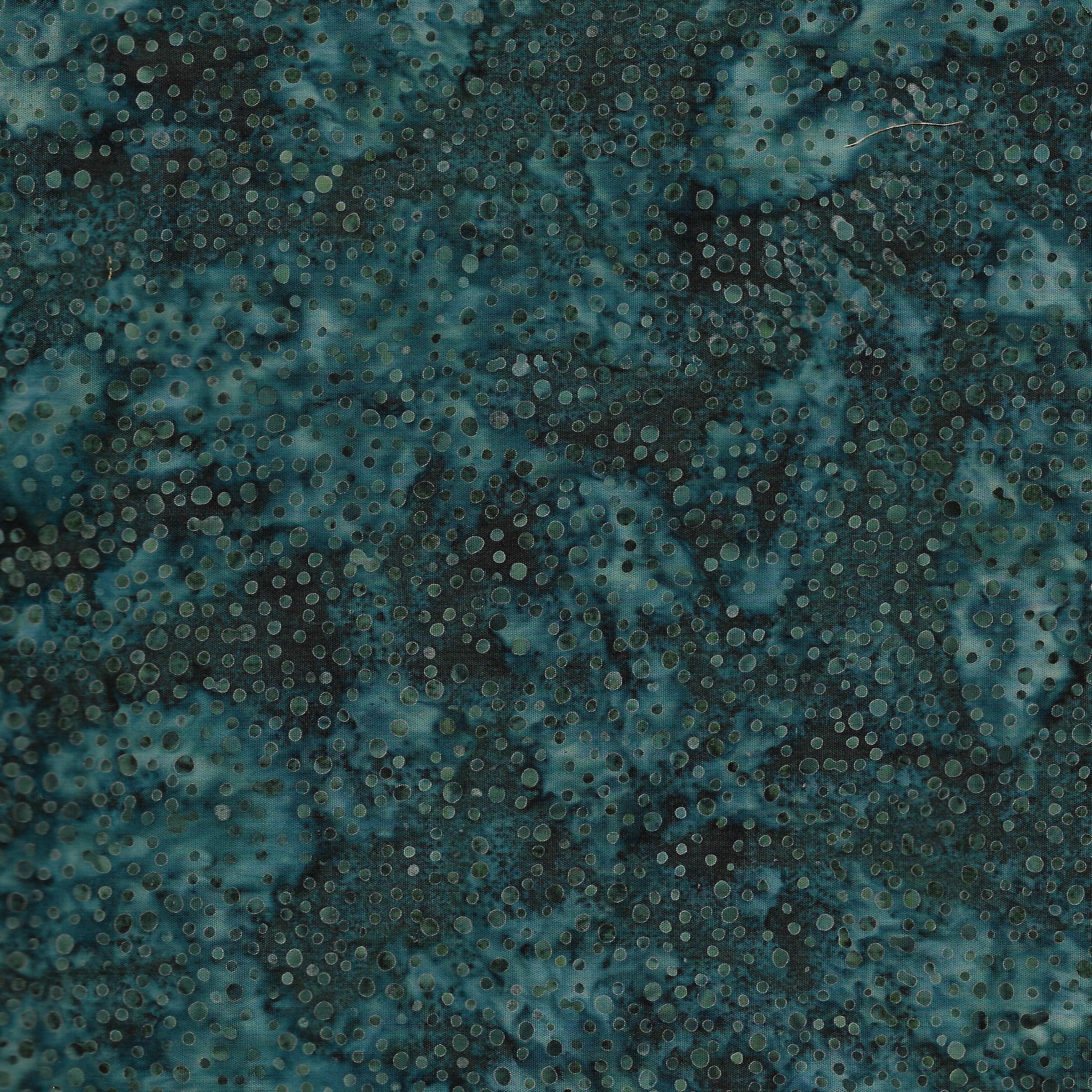 Island Batiks Mini Dot -Dk Lagoon 1186