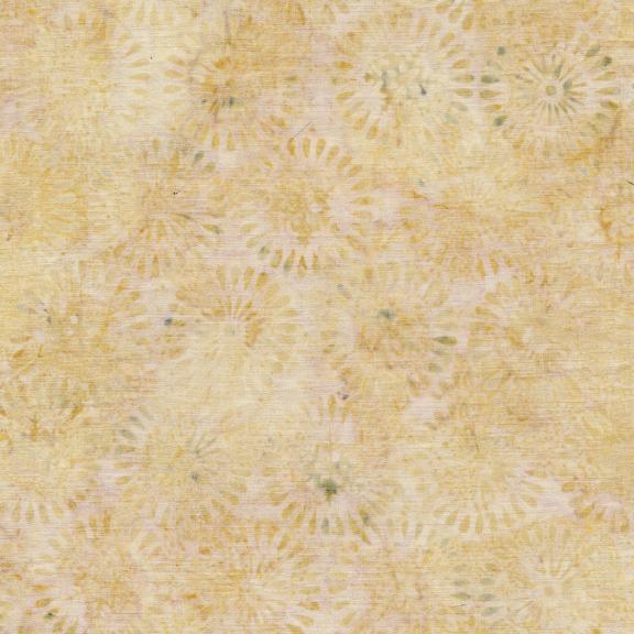 121906030 / Island Batik Nordic Snowflake/Burst-Wheat