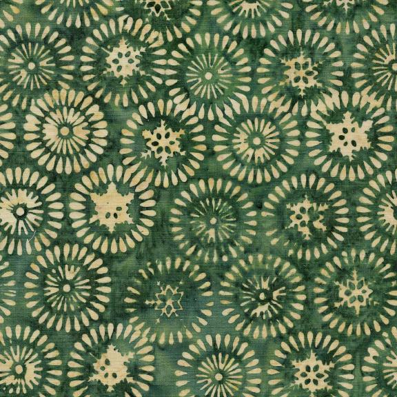 121906685 / Nordic Snowflake/Burst-Grass