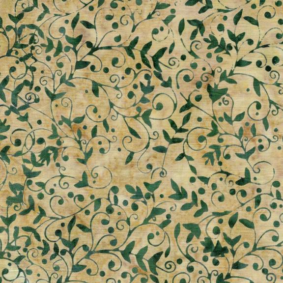 121913131 / Island Batik Vine-Cornmeal