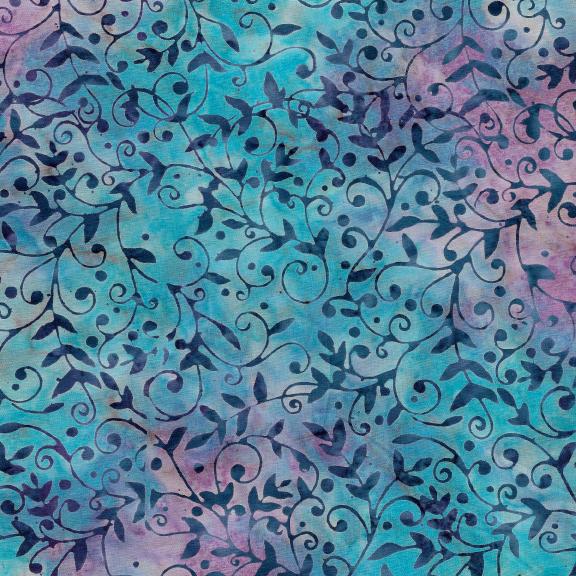 121913550 / VIne-Turquoise