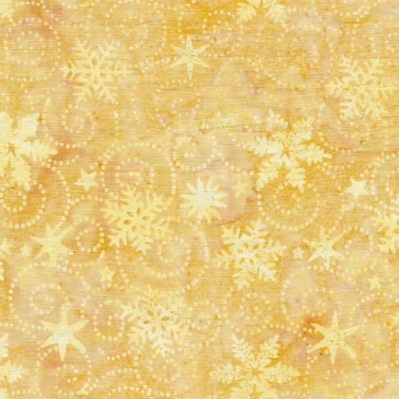 121914049 / Island Batik Swirl Snowflake-Light Smore