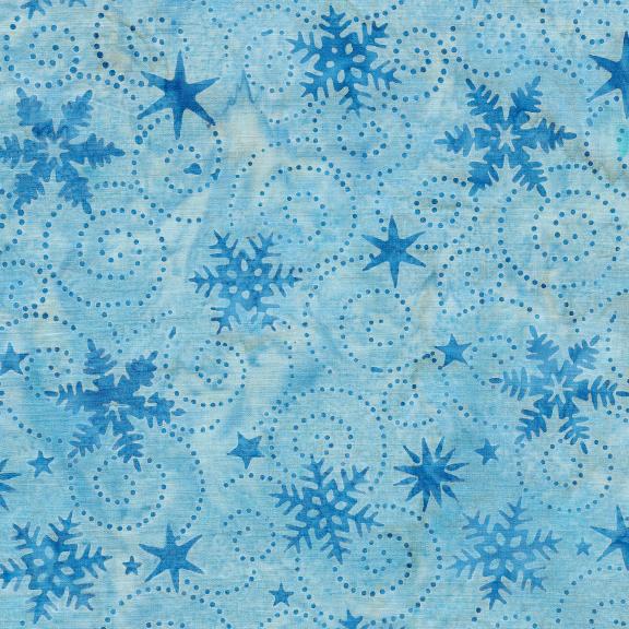 121914512 / Swirl Snowflake-Rain