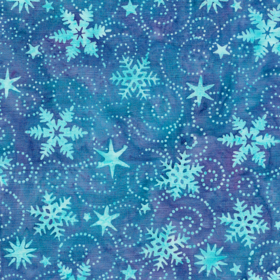 121914540 / Swirl Snowflake -Waterfall