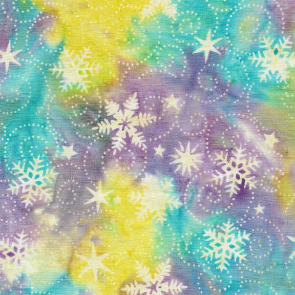 121914905 / Swirl Snowflake -Aurora