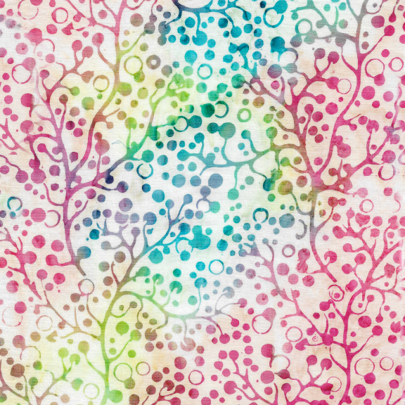 Berries-Tourmaline Batik