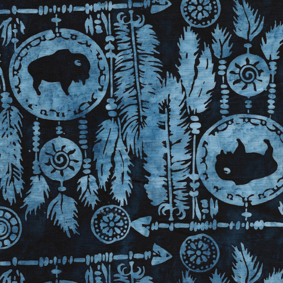 Batik -  Dreamcatcher/Buffalo-Storm