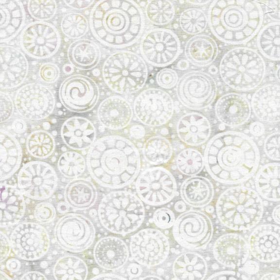 Batik: Beads - Thistle