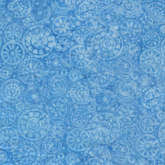 Island Batik - Beads-French Blue