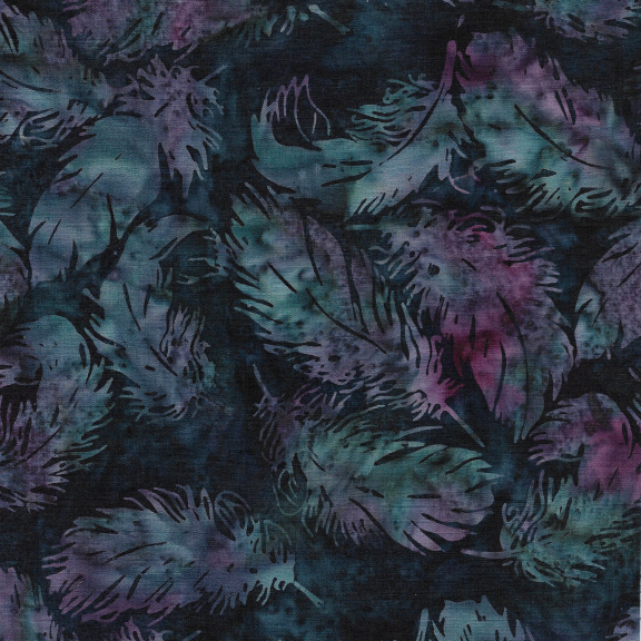 121922884 / Tossed Feather -Frosted Berry