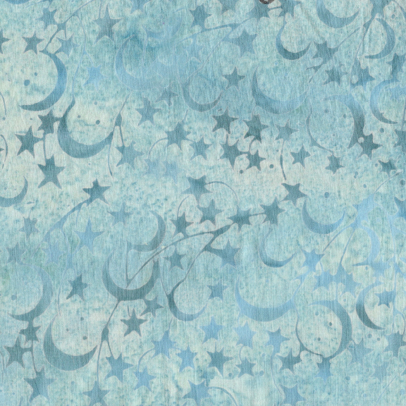 Batik: Star - Pewter