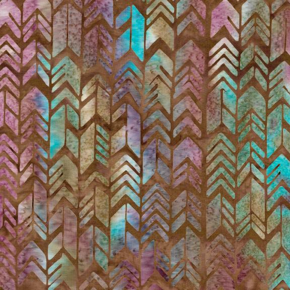 Santa Fe Geometric Arrow Nutmeg 121926080