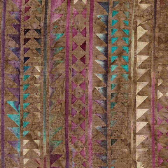 Santa Fe Triangle Arrow/Stripe Coffee 121927082